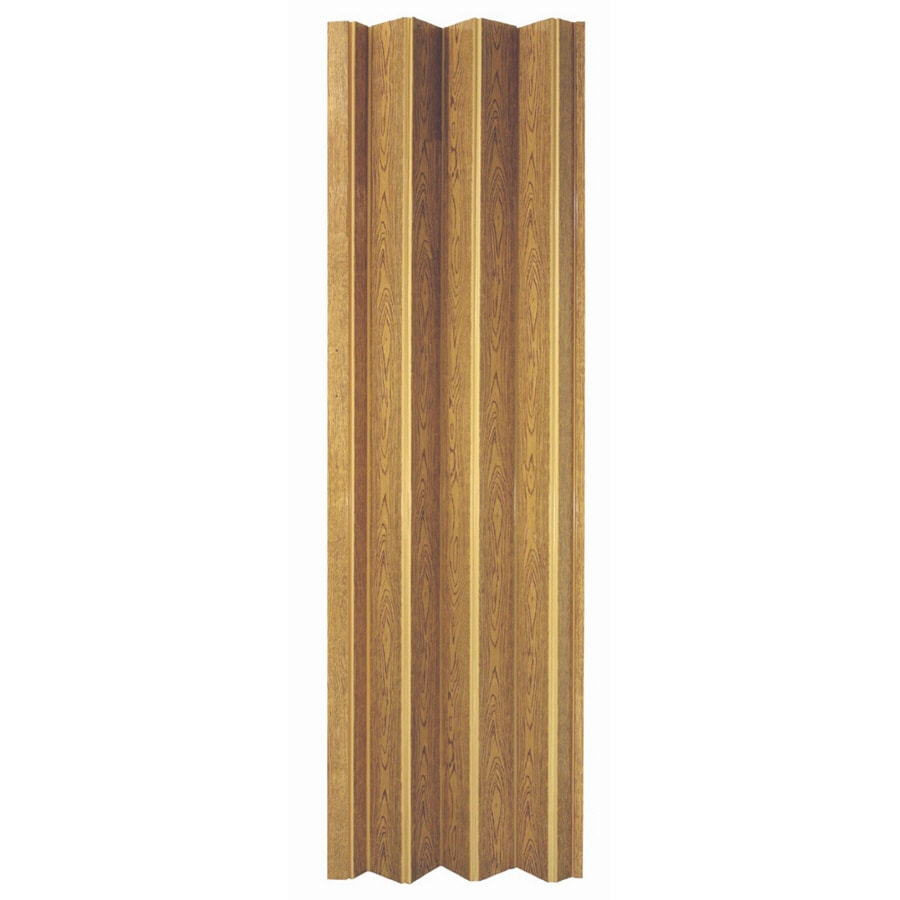 Spectrum Encore Oak 1-Panel Accordion Interior Door (Common: 36-in x 80-in; Actual: 36.75-in x 78.25-in)