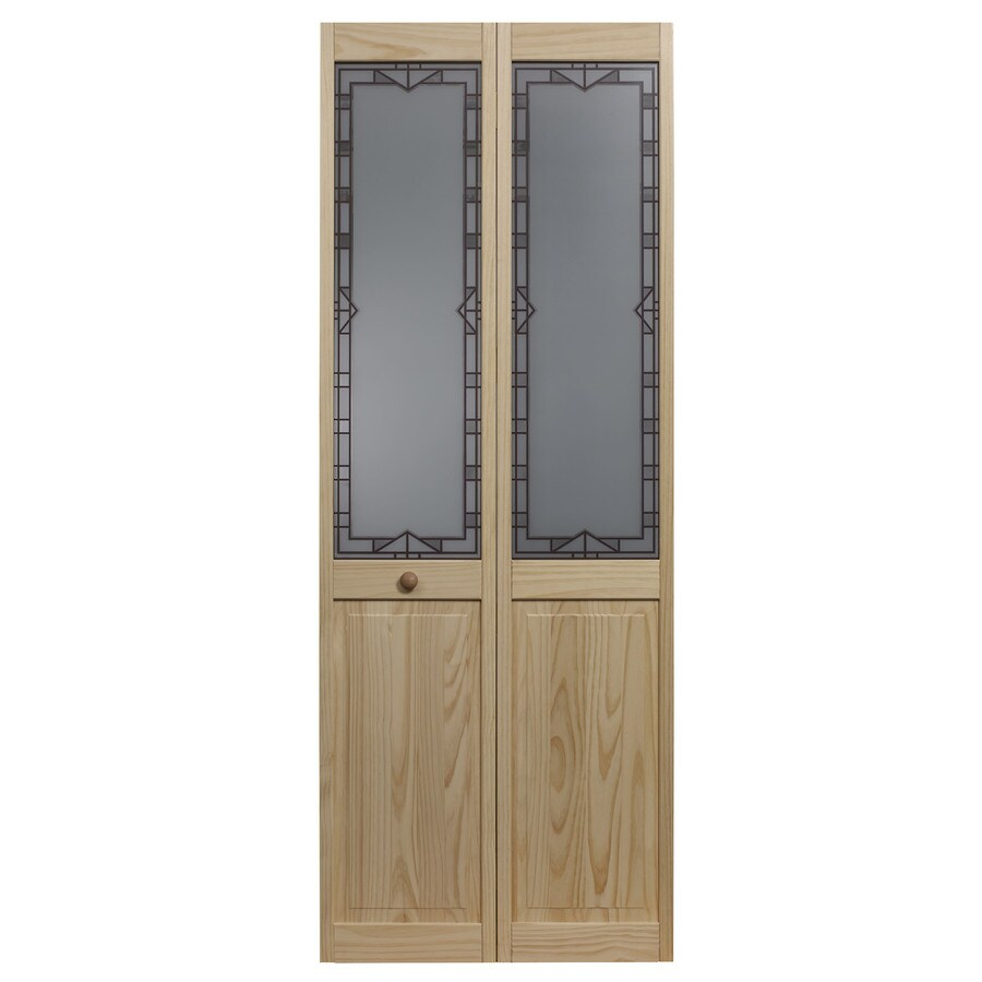 Shop pinecroft design tech solid core 1 lite patterned for One day doors and closets reviews