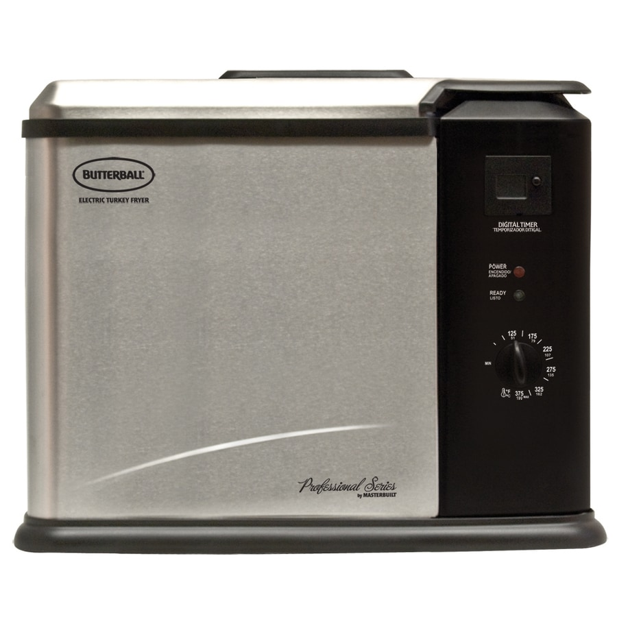 Butterball 11-Quart Electric Turkey Fryer with Timer
