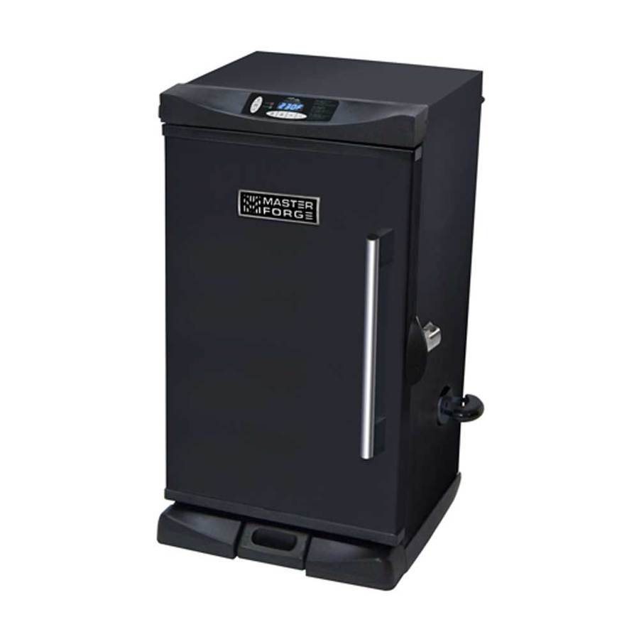 Master Forge 31.9-in 800-Watt Electric Vertical Smoker