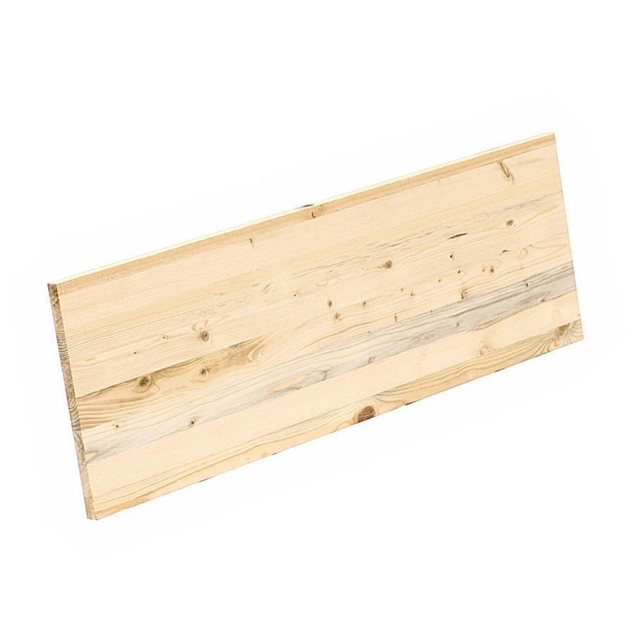 Edge-Glued Panel Radiata Pine Board (Actual: 0.656-in x 12-in x 3-ft)