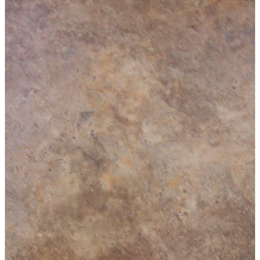 Cryntel 18-in x 18-in Romastone Mojave Travertine Finish Peel-And-Stick Luxury Vinyl Tile