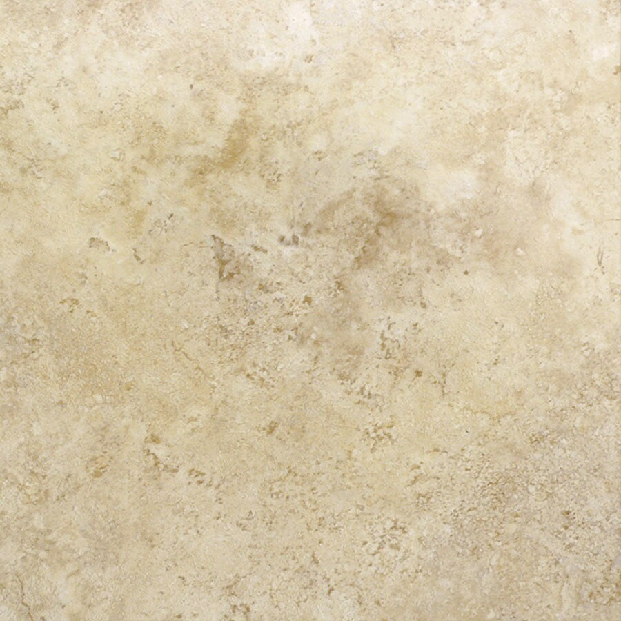 Cryntel 18-in x 18-in Romastone Beige Sand Stone Finish Luxury Vinyl Tile