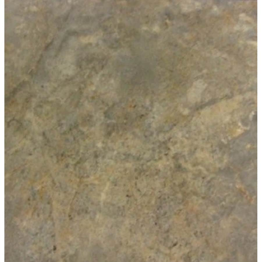 Cryntel 18-in x 18-in Romastone Graphite Travertine Finish Peel-And-Stick Luxury Vinyl Tile
