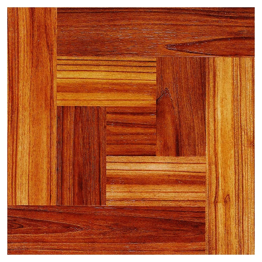 Cryntel 12-in x 12-in Chateau Peel-and-Stick Wood Residential Vinyl Tile