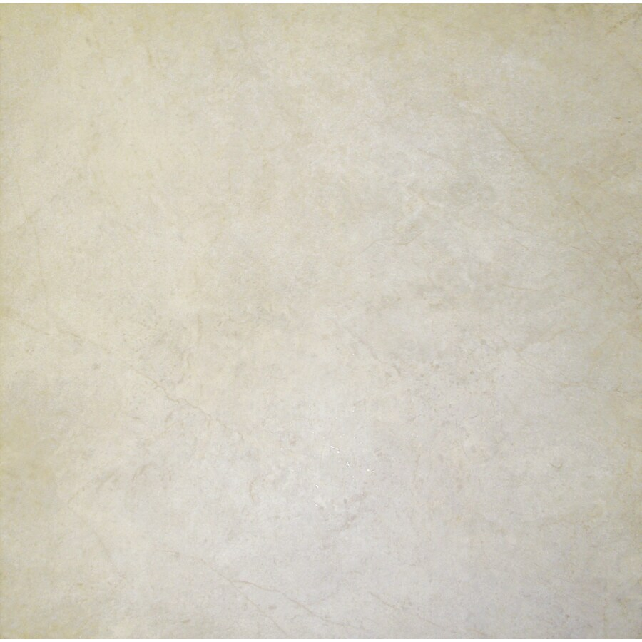 Cryntel 18-in x 18-in Romastone Sterling Travertine Finish Peel-And-Stick Luxury Vinyl Tile