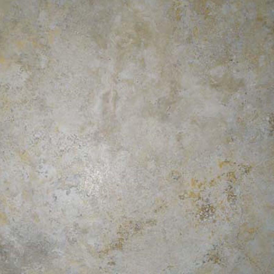 Cryntel Italiastone 12-in x 12-in Groutable Travertine Peel-and-Stick Stone Luxury Residential Vinyl Tile