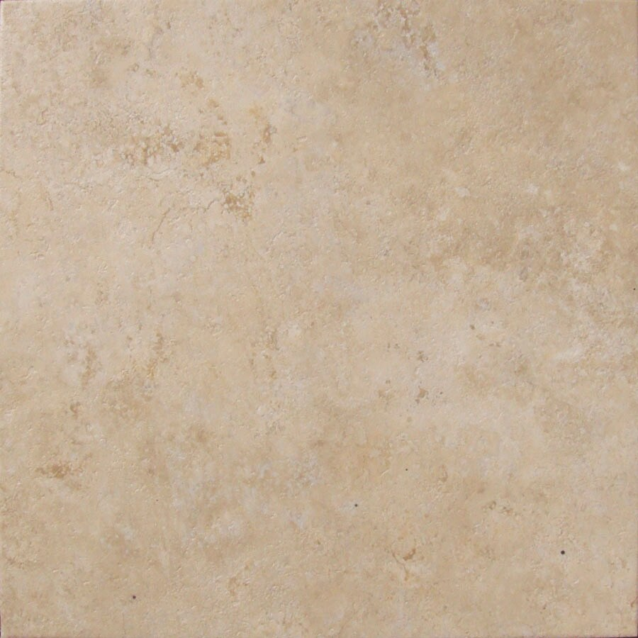 Cryntel Visions 18-in x 18-in Beige Peel-and-Stick Stone Residential Vinyl Tile