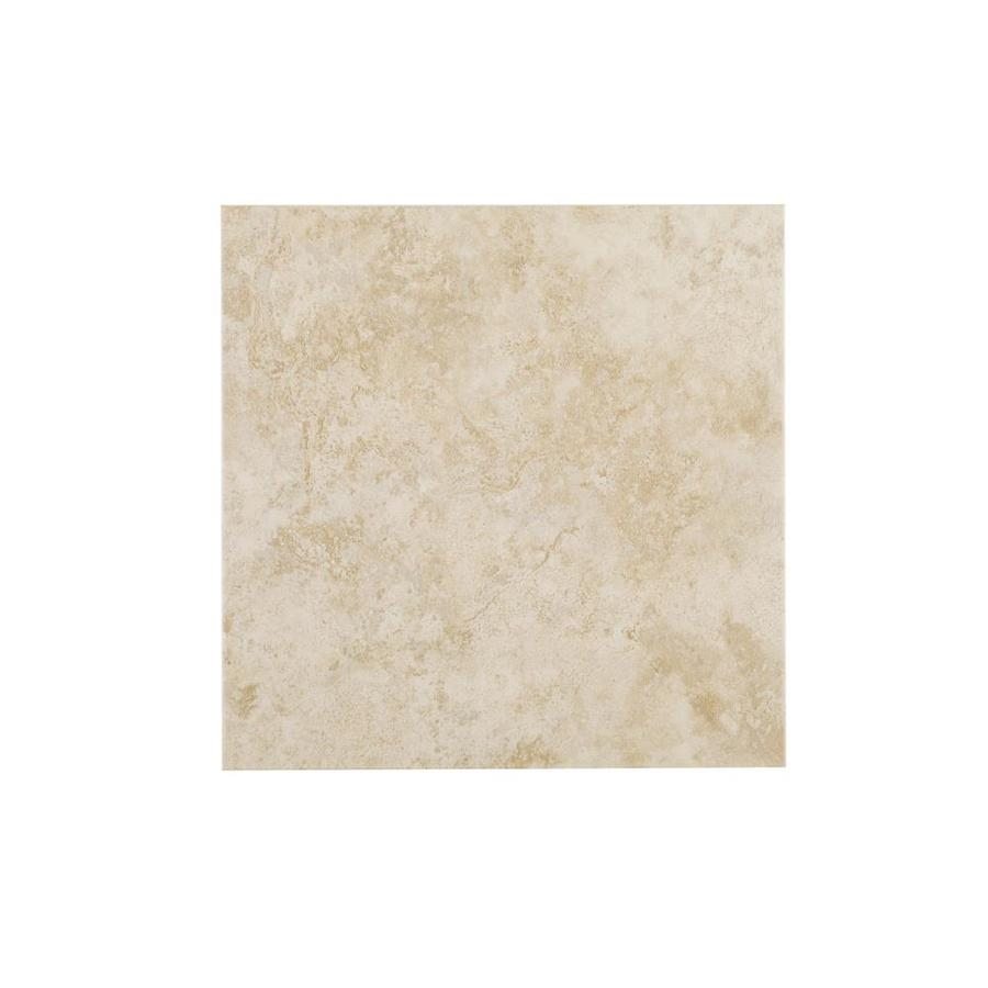 Style Selections Capri Classic Porcelain Floor Tile (Common: 18-in x 18-in; Actual: 17.72-in x 17.72-in)