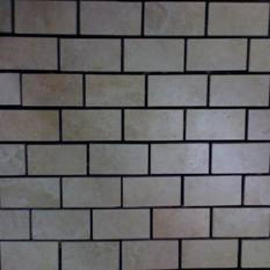 GBI Tile & Stone Inc. Capri Classic-Glazed Porcelain-Glass Subway Mosaic Thru Body Porcelain Wall Tile (Common: 12-in x 12-in; Actual: 11.81-in x 11.81-in)