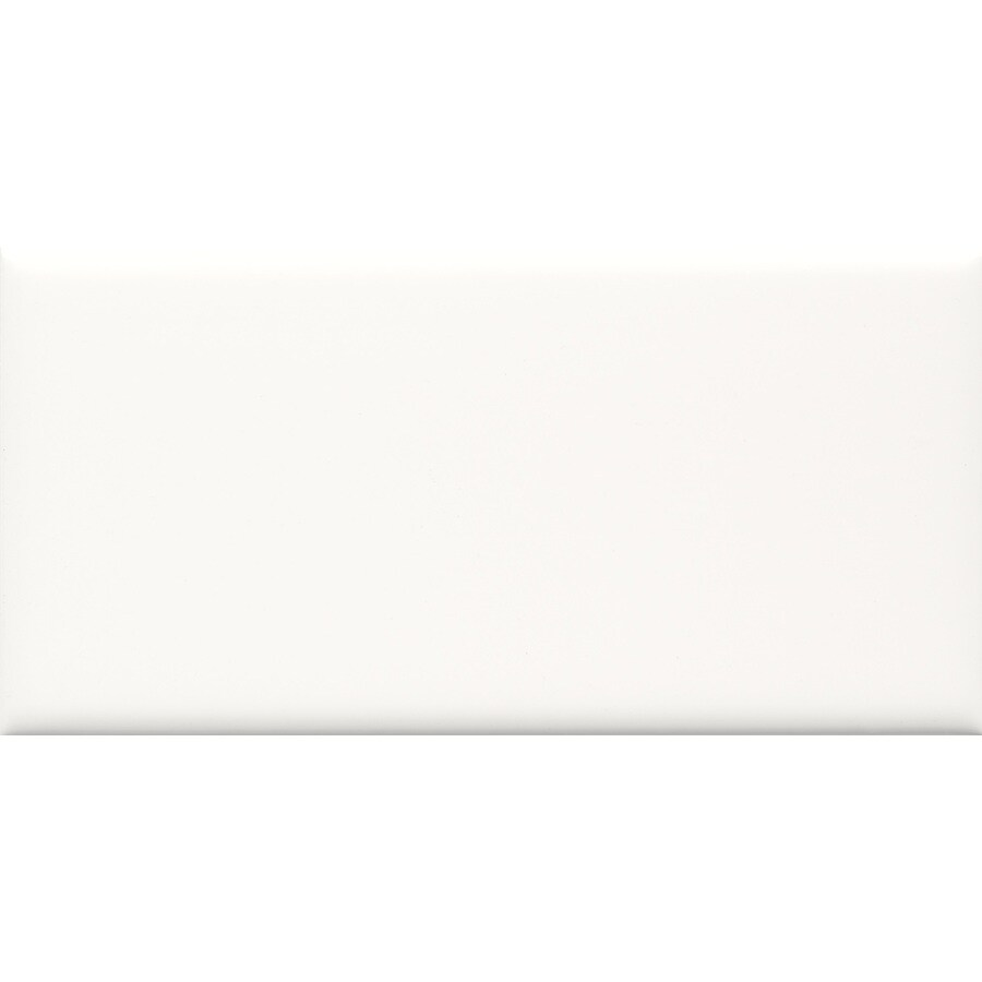 allen + roth Allen + Roth 8-Pack White Ceramic Wall Tile (Common: 3-in x 6-in; Actual: 2.94-in x 5.88-in)