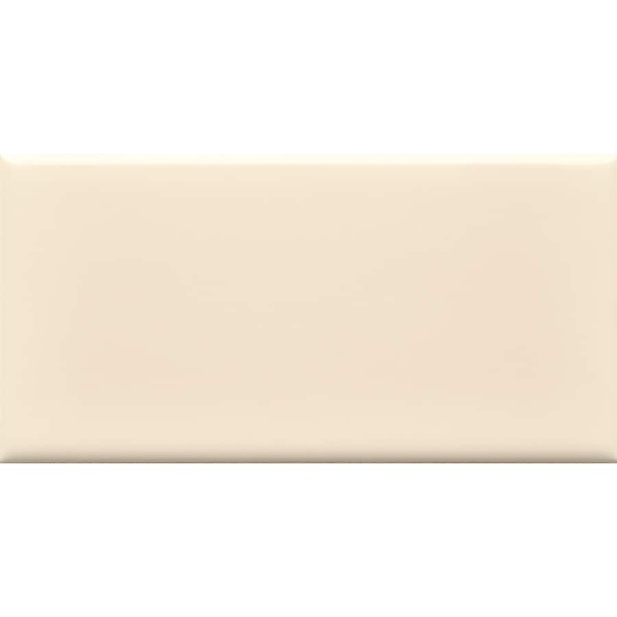 allen + roth Allen + Roth 8-Pack Fawn Ceramic Wall Tile (Common: 3-in x 6-in; Actual: 2.94-in x 5.88-in)
