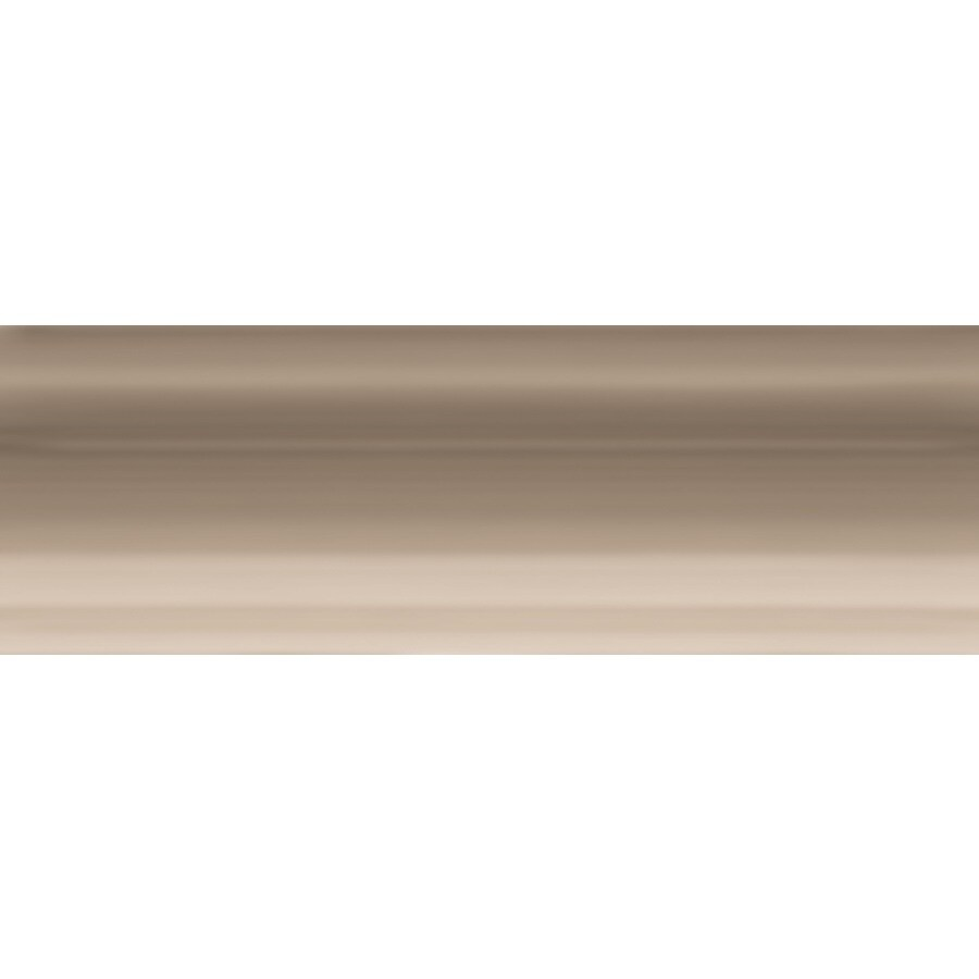 GBI Tile & Stone Inc. Allen + Roth 6-Pack Chocolate Ceramic Bullnose Tile (Common: 2-in x 6-in; Actual: 2-in x 5.88-in)