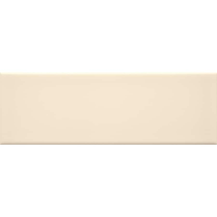 allen + roth Fawn Ceramic Wall Tile (Common: 4-in x 12-in; Actual: 3.93-in x 11.81-in)