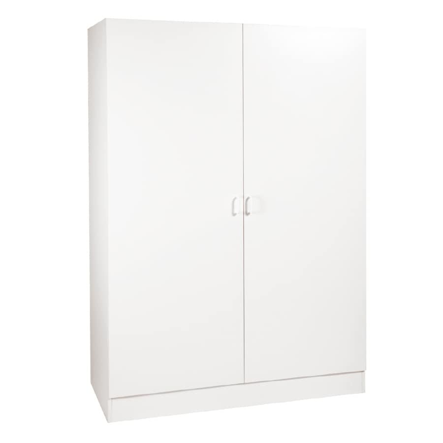 Stor-It-All 48-in W x 70-in H x 20-in D Wood Composite Garage Cabinet