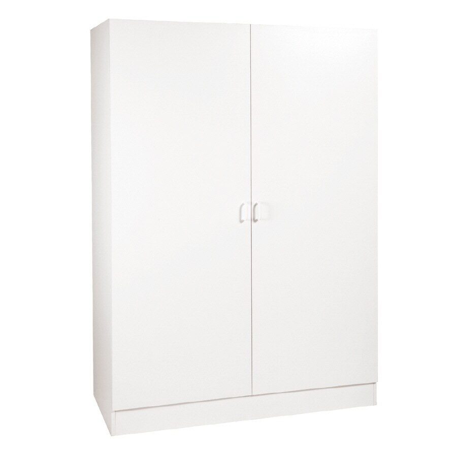 Stor-It-All 48-in W x 70-in H x 20-in D Wood Composite Garage Cabinet