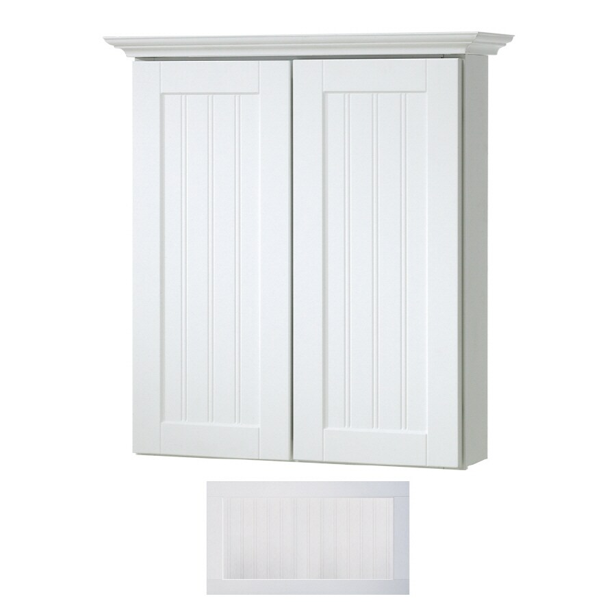 shop insignia crest wall cabinet common 24 in actual