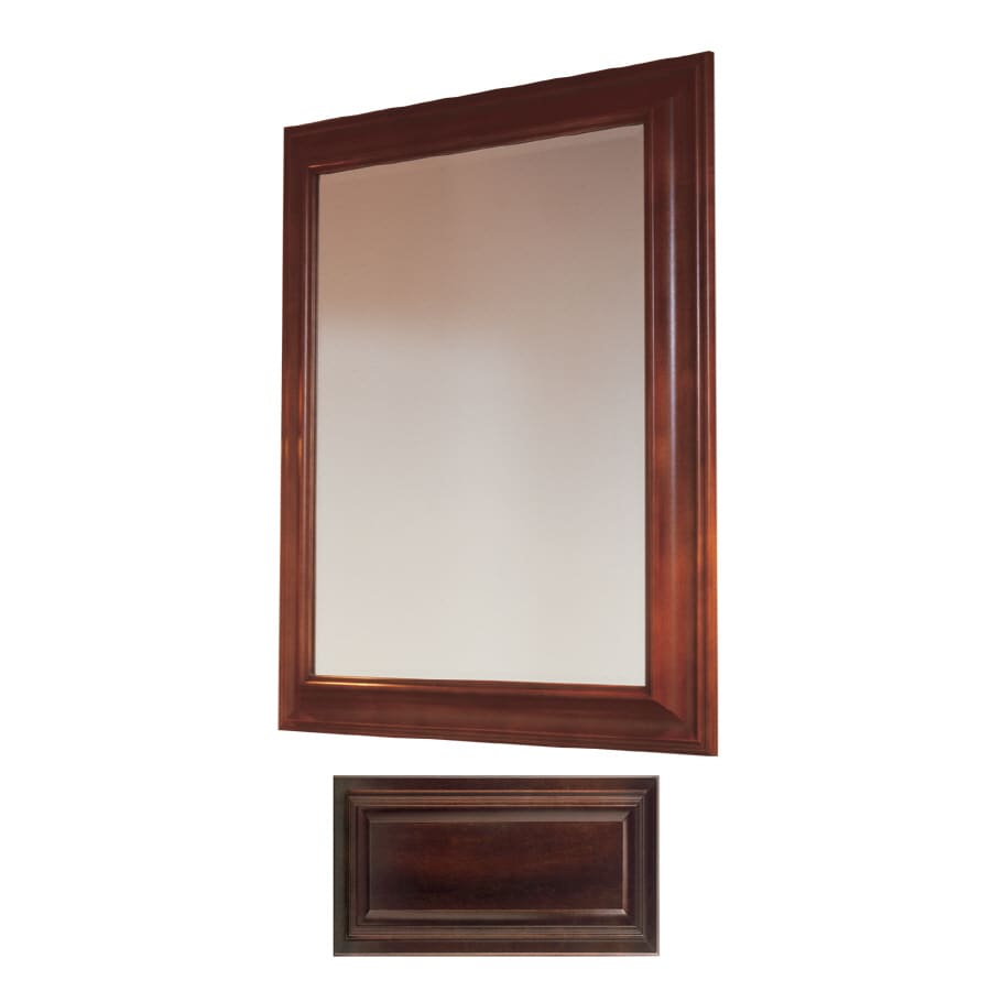 Insignia Insignia 36-in H x 30-in W Java Rectangular Bathroom Mirror