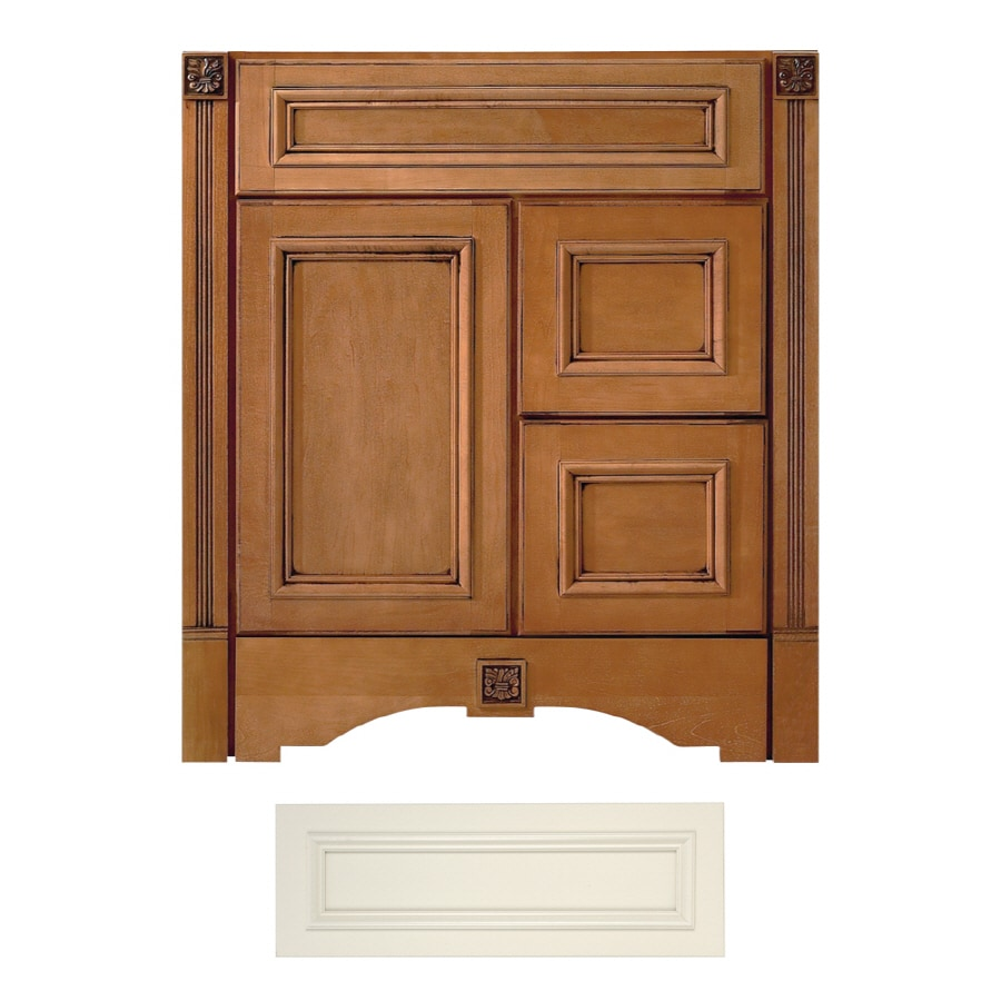 Shop Architectural Bath Tuscany Vanilla Traditional Bathroom Vanity Common 30 In X 21 In