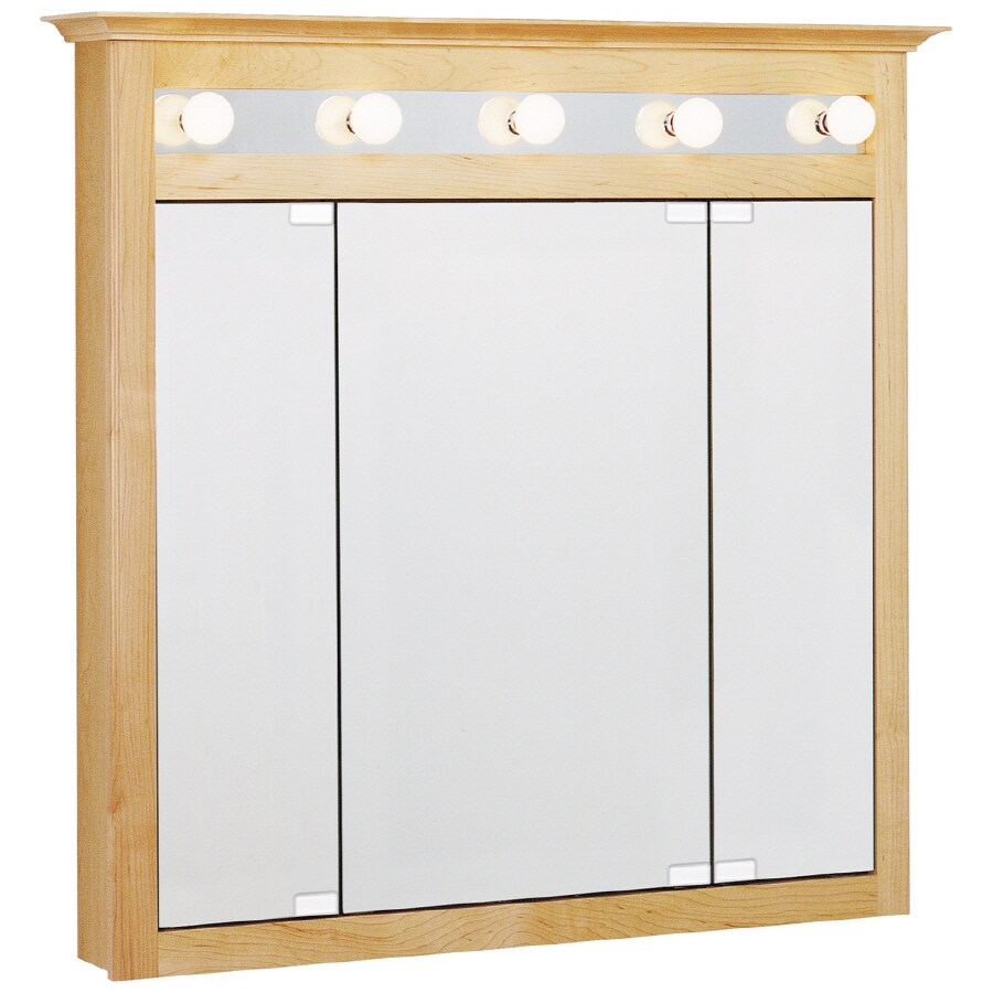 Shop Estate By Rsi X Surface Medicine Cabinet With Lights At