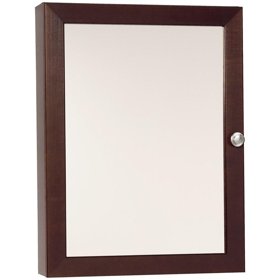 """Style Selections 18"""" Tan Surface Mount Medicine Cabinet"""