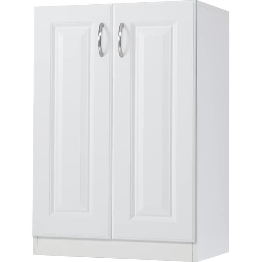 ESTATE by RSI 23.75-in W x 34.5-in H x 16.625-in D White Base Cabinet