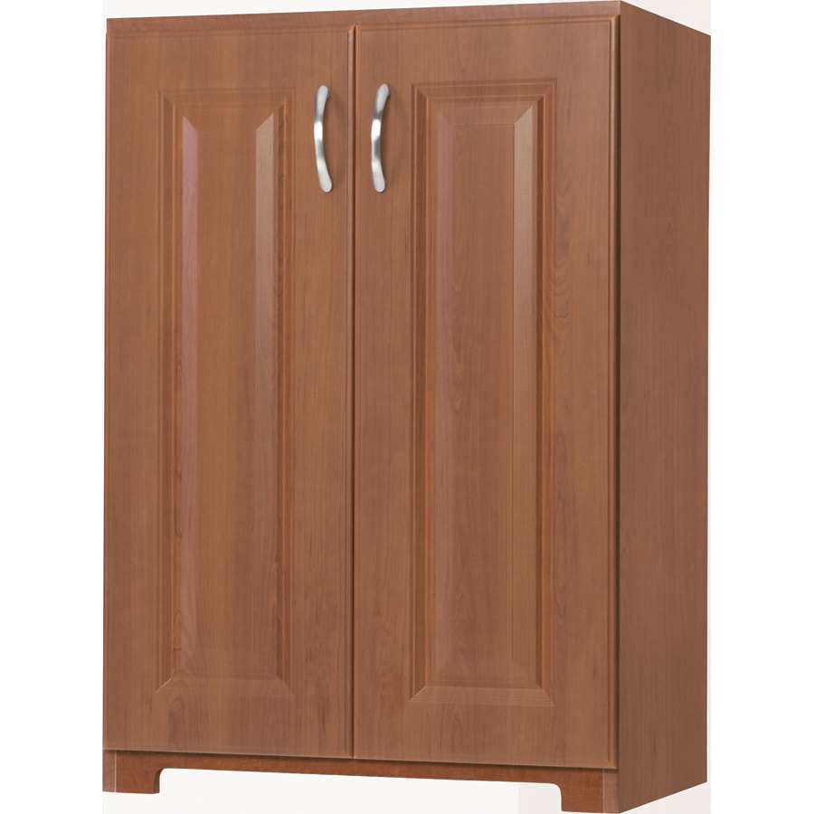 ESTATE by RSI 23.75-in W x 34.5-in H x 16.62-in D Cognac Base Cabinet