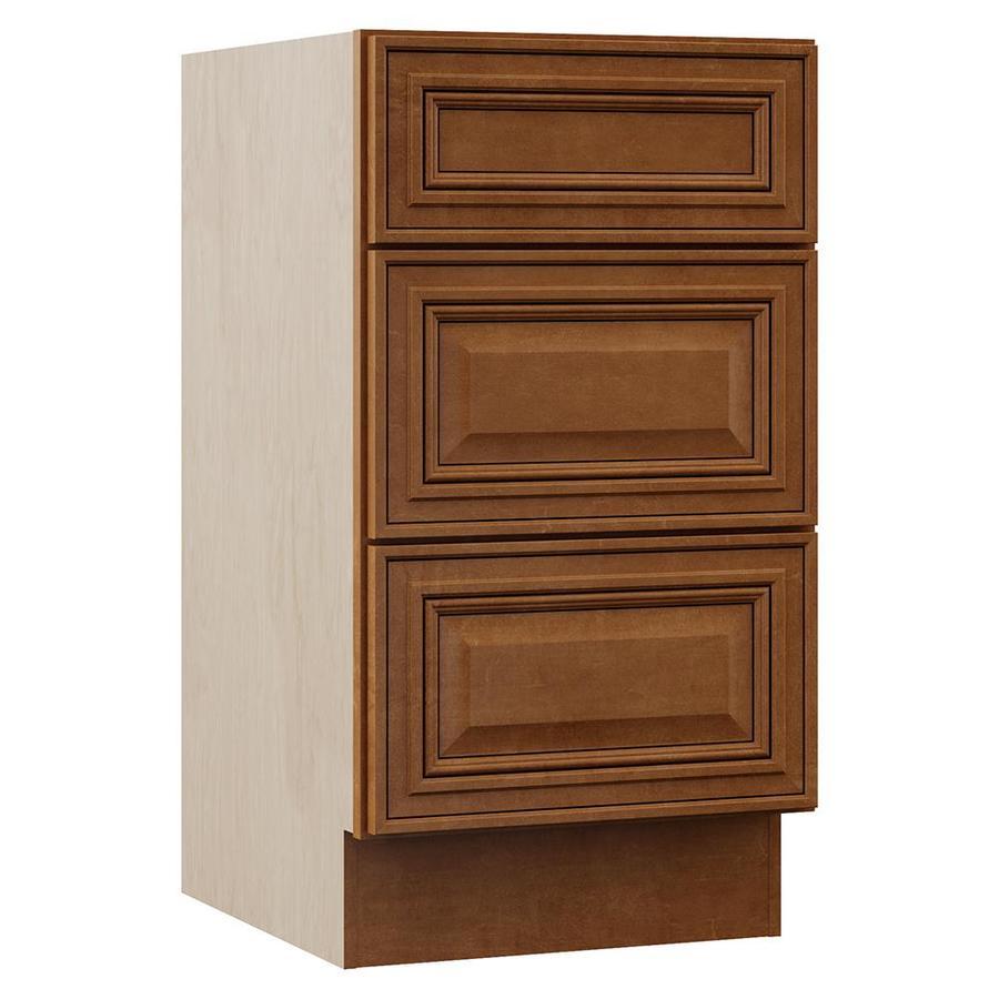 VILLA BATH by RSI Monroe 18-in W x 33.5-in H x 21.5-in D 3-Drawer Freestanding Cabinet Banks