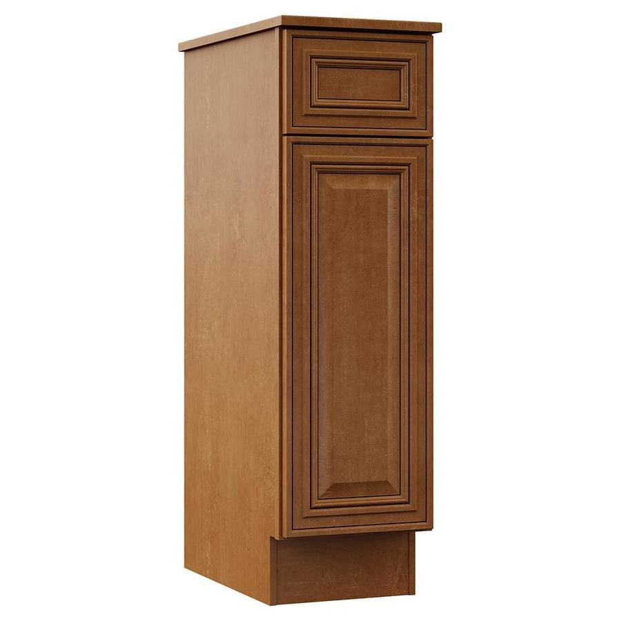 VILLA BATH by RSI Canyon Monroe Floor Hutch (Common: 12-in x 21.5-in x 41.75-in; Actual: 12-in x 21.5-in x 41.75-in)