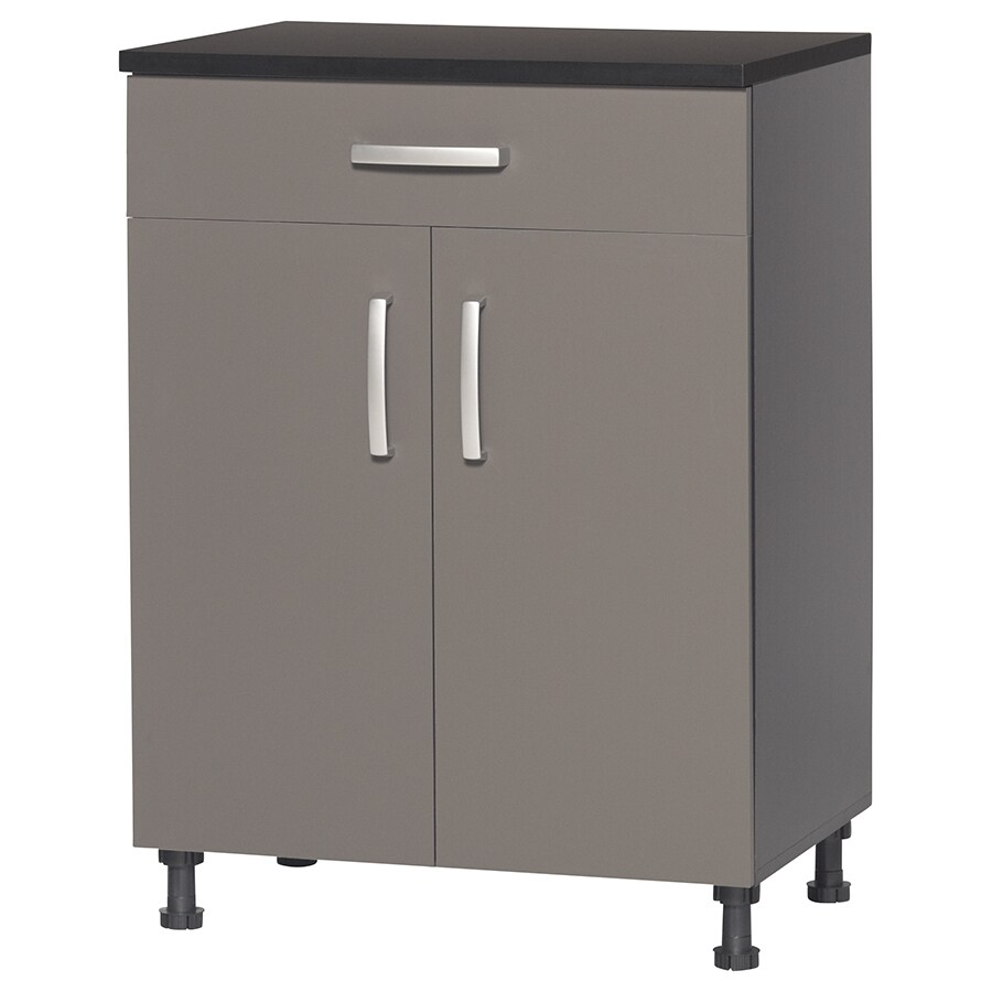 Blue Hawk 27-in W x 37.25-in H x 19-in D Wood Composite Garage Cabinet