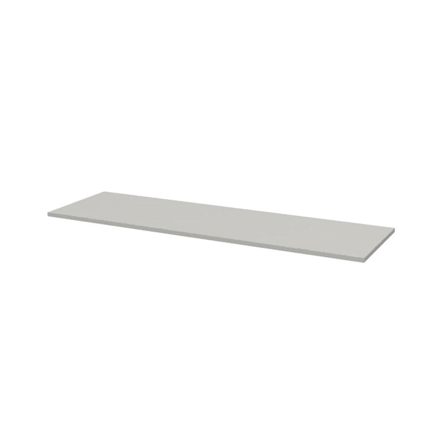 ESTATE by RSI 46-in W x 14.5-in D White Wood Closet Shelf
