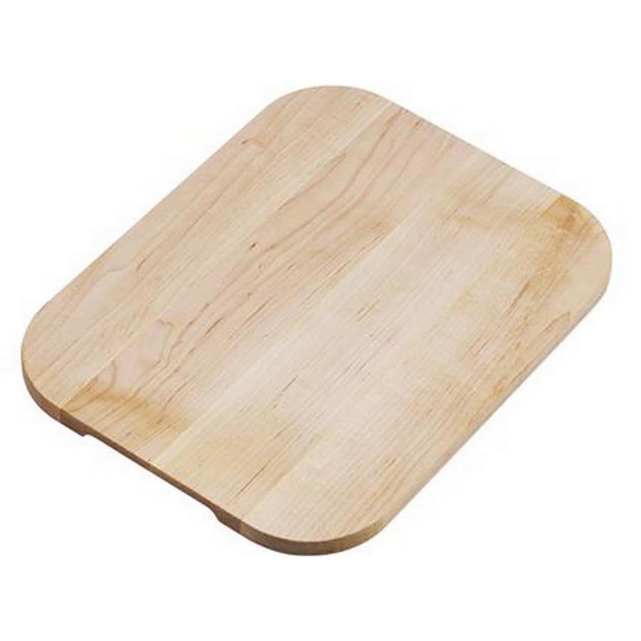Elkay 1 10.125-in L x 12.875-in W Wood Cutting Board