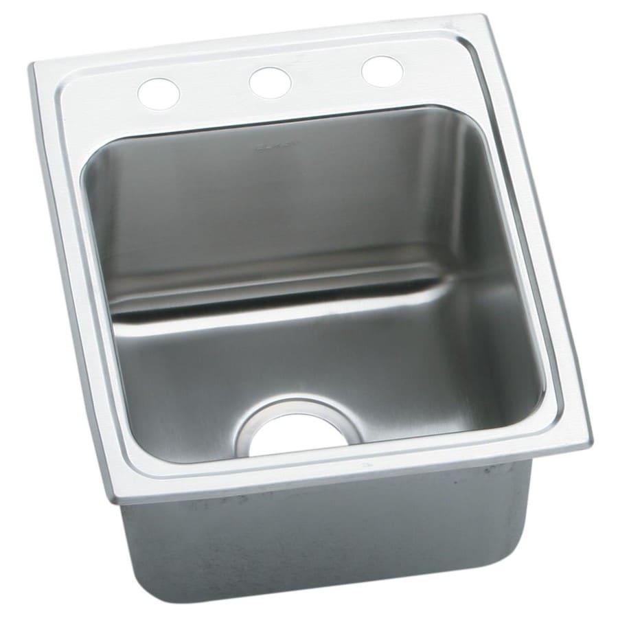 Elkay 1-Hole Stainless Steel Bar Sink