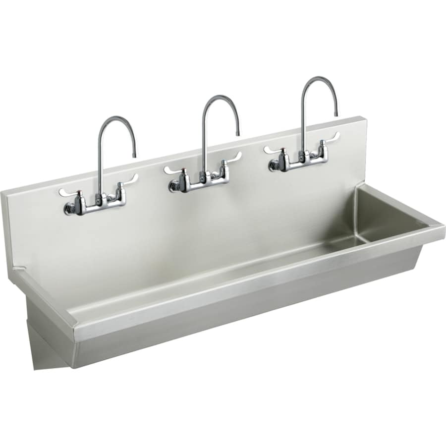 ... Mount Stainless Steel Utility Tub Utility Sink with Drain and Faucet