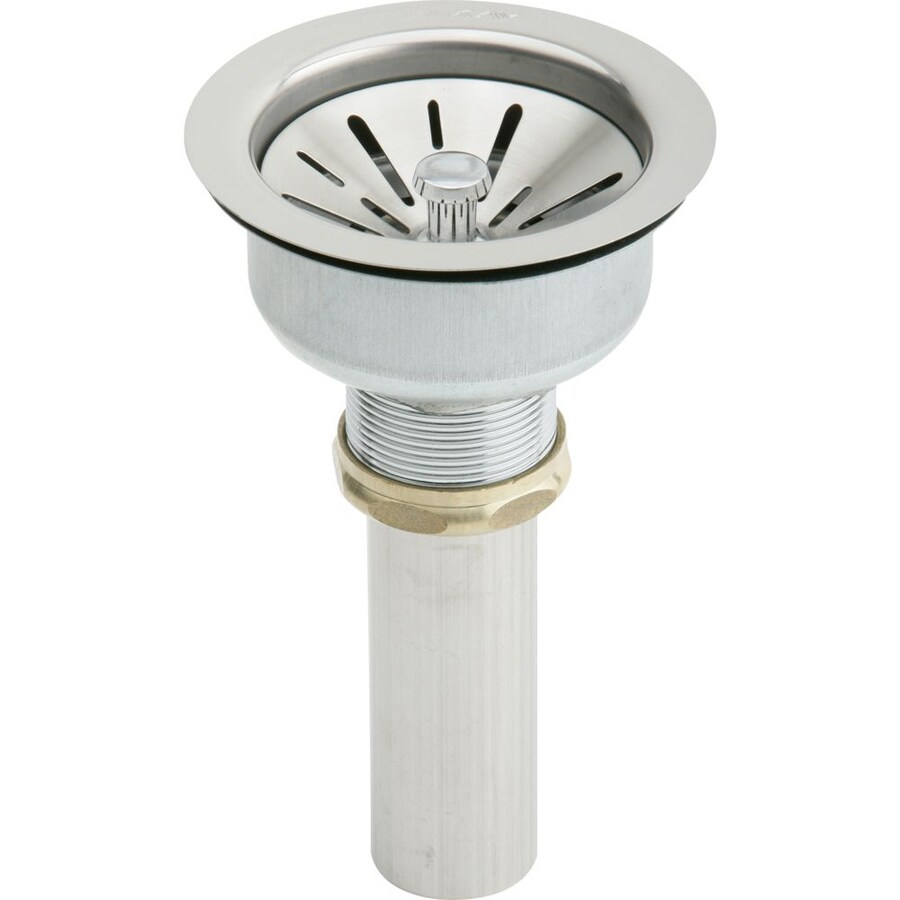 Shop Elkay Stainless Steel Decorative Sink Drain For
