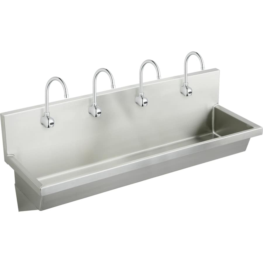 Stainless Wall Mount Sink : ... Wall Mount Stainless Steel Utility Tub Utility Sink with Drain and