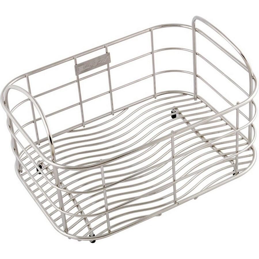 Elkay 11-in W x 8-in L x 8-in H Metal Dish Rack and Drip Tray