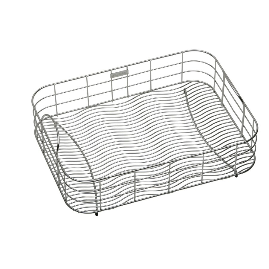 Elkay 19-in W x 17-in L x 8-in H Metal Dish Rack and Drip Tray