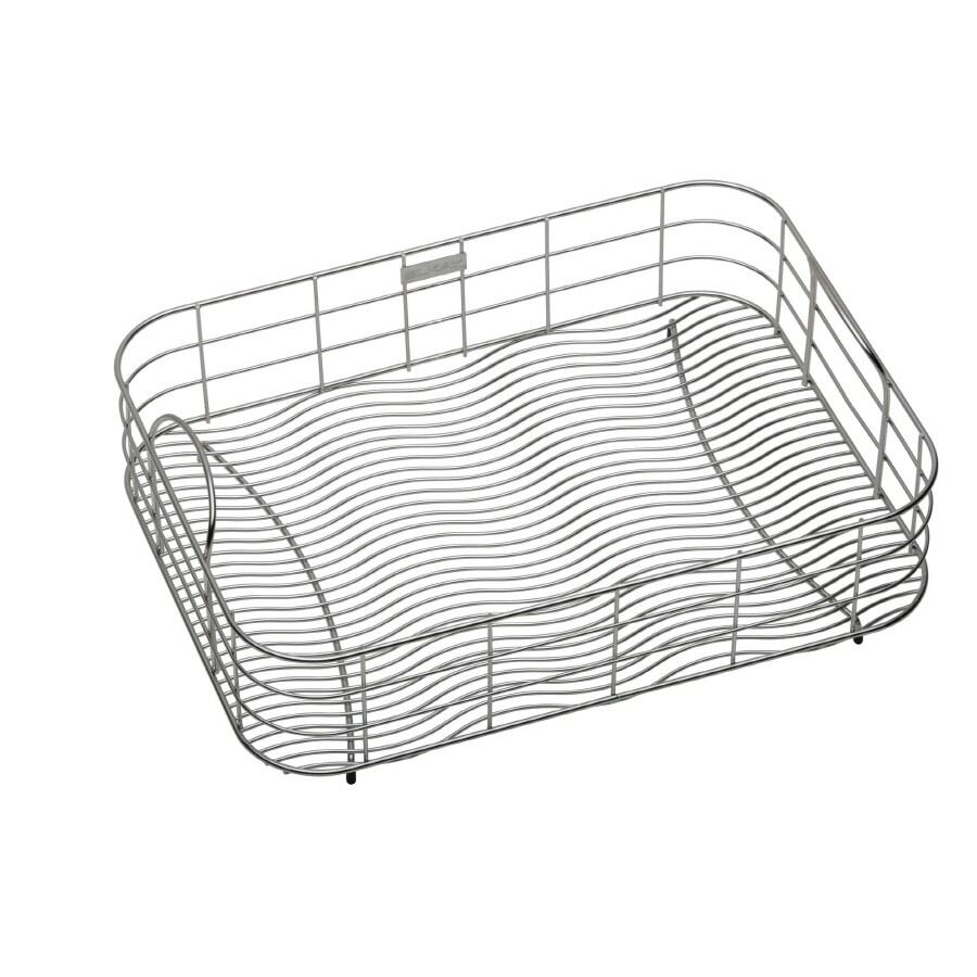 Elkay 20-in W x 14.75-in L x 8-in H Metal Dish Rack and Drip Tray
