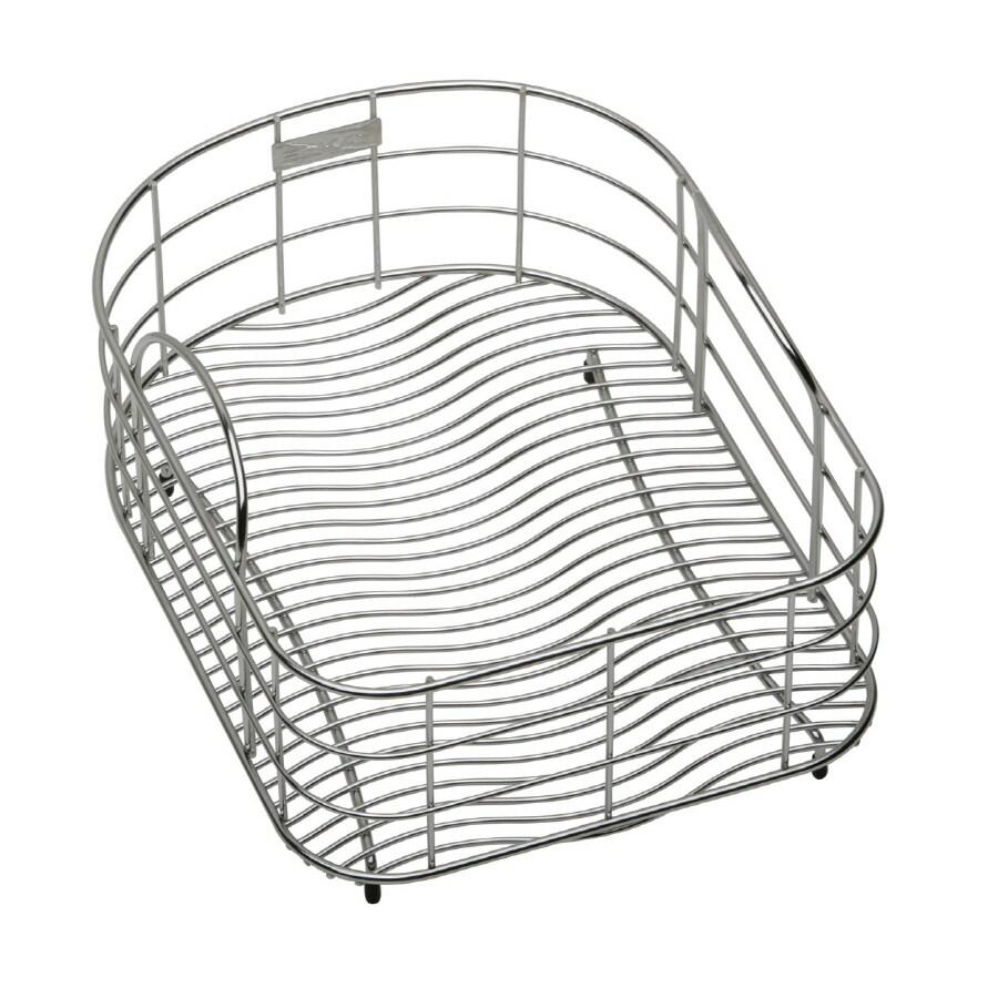 Elkay 19.4375-in W x 17.1875-in L x 8-in H Metal Dish Rack and Drip Tray