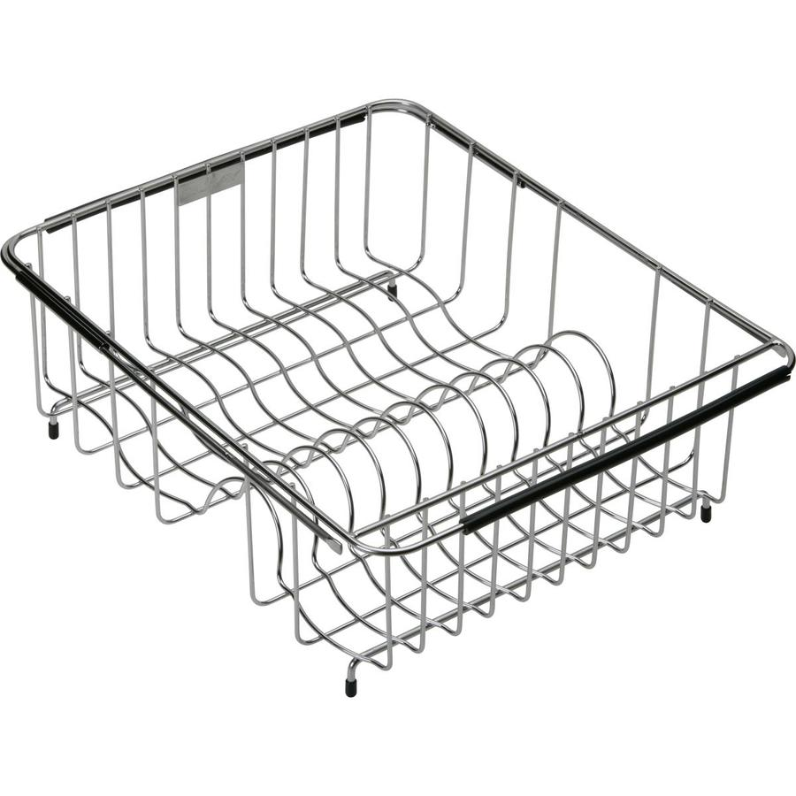 Elkay 15.45-in W x 12.45-in L x 8-in H Metal Dish Rack and Drip Tray