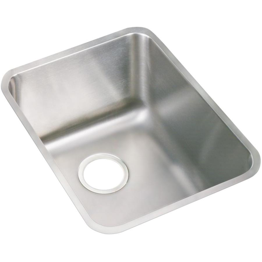 Elkay 20.5-in x 16.5-in Lustertone Undermount Stainless Steel Laundry Sink Utility Sink