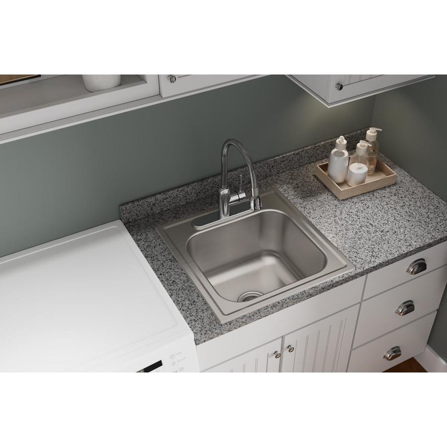 ... in Stainless Steel Single-Basin Undermount Residential Kitchen Sink