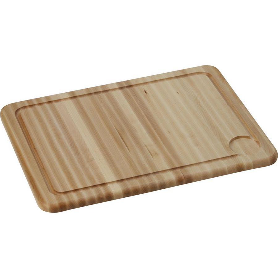 Elkay 1 17.325-in L x 23.3-in W Wood Cutting Board
