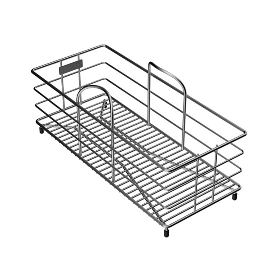 Elkay 15-in W x 6.5-in L x 7.78-in H Metal Dish Rack and Drip Tray