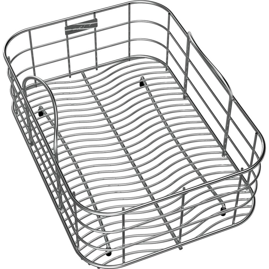 Elkay 10.125-in W x 14.25-in L x 8-in H Metal Dish Rack and Drip Tray