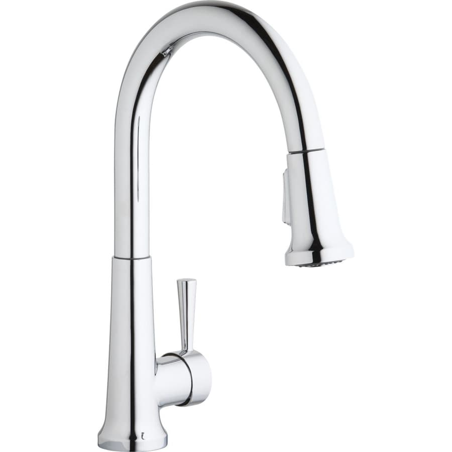 Elkay Everyday Chrome 1-Handle Pull-Down Kitchen Faucet