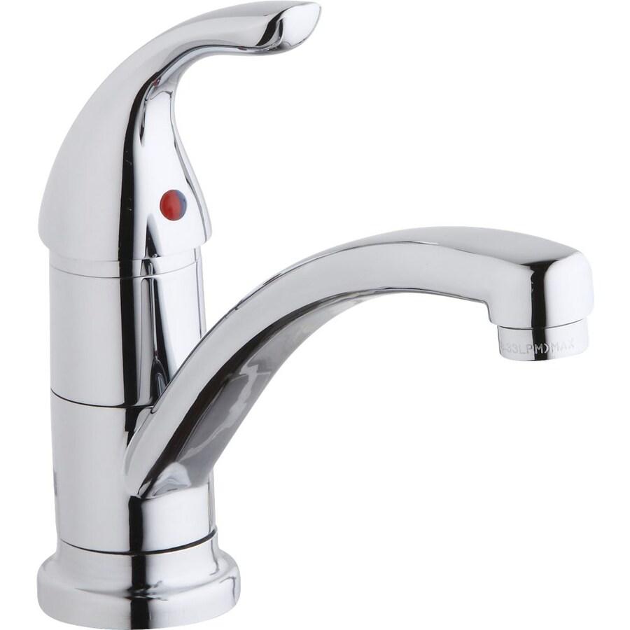 Shop Elkay Everyday Chrome 1-Handle Low-Arc Kitchen Faucet