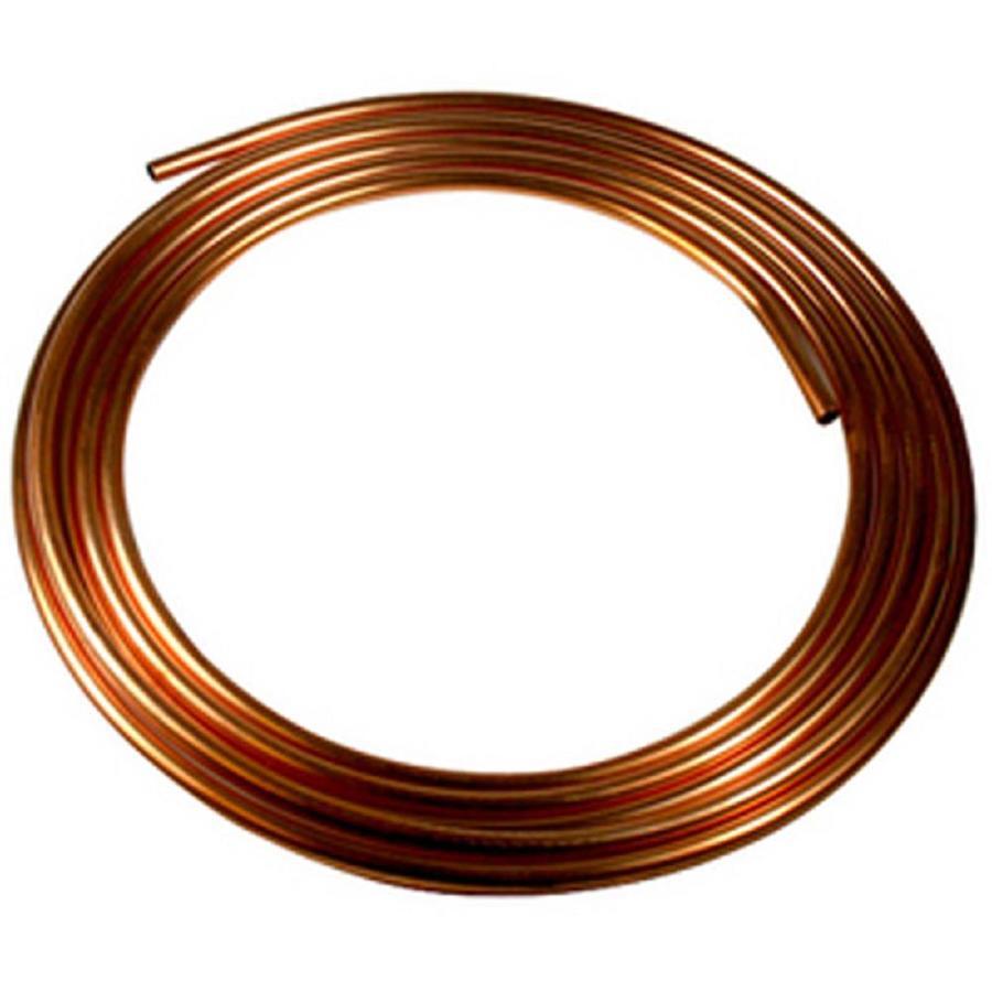 1/2-in dia x 20-ft L Coil Copper Pipe