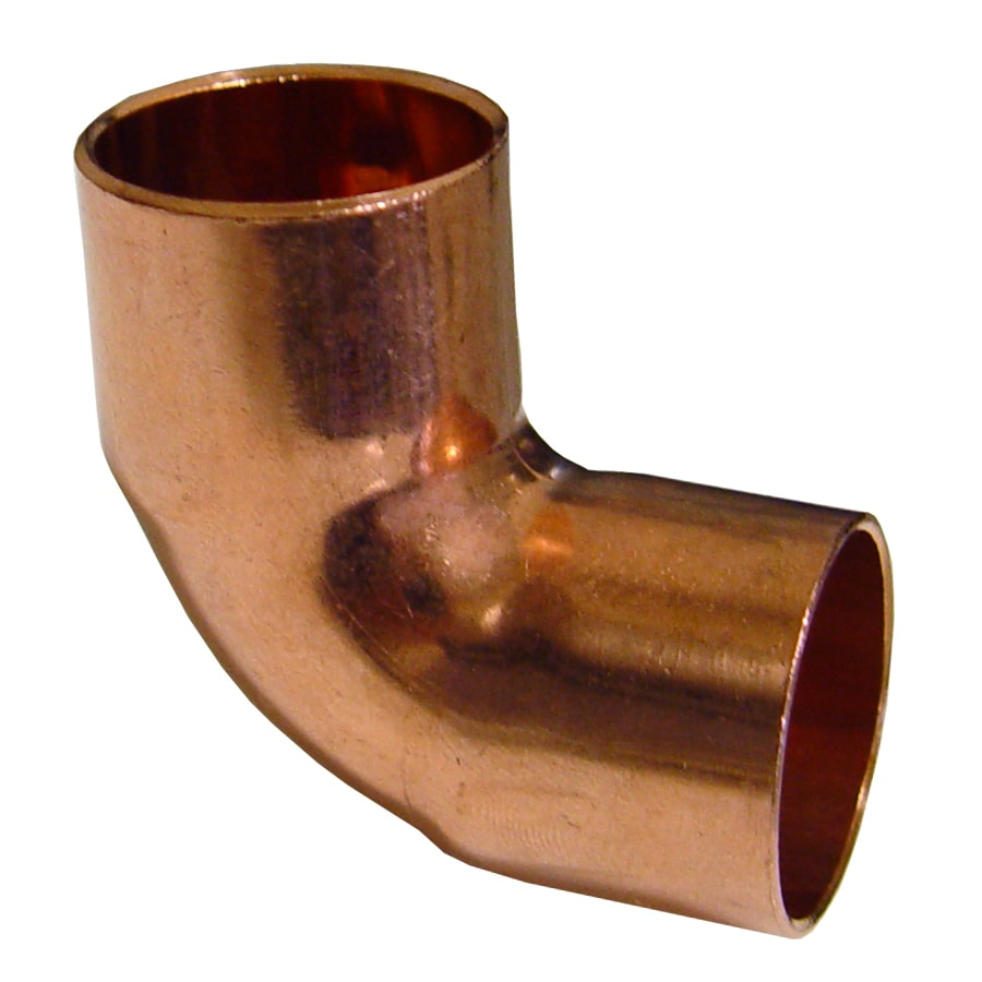 1-1/2-in x 1-1/2-in Dia. 90-Degree Copper Elbow Fitting